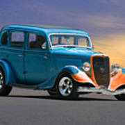 1934 Ford Victoria II Poster
