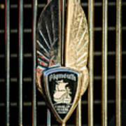1934 Plymouth Emblem Poster