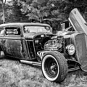 1935 Chevy Sedan Rat Rod Poster