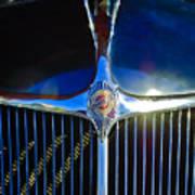 1935 Chrysler Hood Ornament 2 Poster by Jill Reger