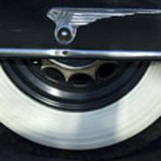 1935 Chrysler Tire Poster