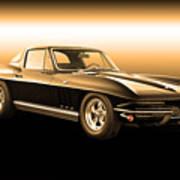 1965 Corvette Stingray Poster