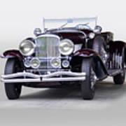 1935 Duesenberg Sj Roadster Poster