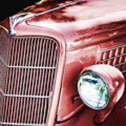 1935 Ford Sedan Hood Poster