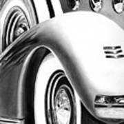 1935 Lasalle Abstract Poster