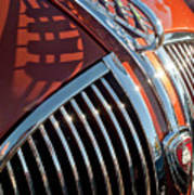 1935 Plymouth Hood Ornament Poster