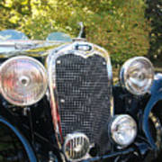 1935 Triumph Southern Cross Front Grill Poster