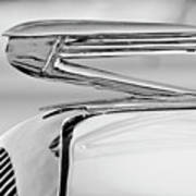 1936 Buick 40 Series Hood Ornament 2 Poster