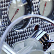1936 Cord Phaeton Gear Shift Poster