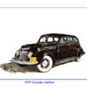 1937 Chrysler Airflow  Poster