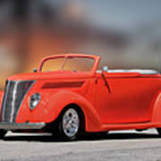 1937 Ford Cabriolet 'old School Vibe II Poster