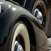 1937 Lincoln K Brunn Abstract Poster