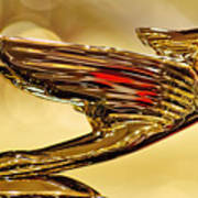 1938 Cadillac V-16 Sedan Hood Ornament 2 Poster