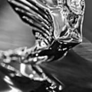 1938 Cadillac V16 Hood Ornament Poster