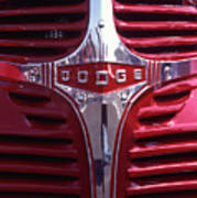1938 Dodge Pickup Front End Poster
