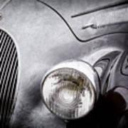 1938 Talbot-lago 150c Ss Figoni And Falaschi Cabriolet Headlight - Emblem -1554ac Poster