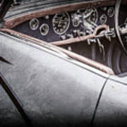 1938 Talbot-lago 150c Ss Figoni And Falaschi Cabriolet Steering Wheel -1561ac Poster