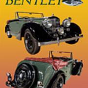 1939 Bentley Drop Head Coupe Poster
