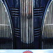 1939 Pontiac 6 Opera Coupe Grille Emblem Poster
