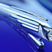 1939 Pontiac Coupe Hood Ornament 4 Poster by Jill Reger