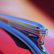 1940 Buick Century Hood Ornament Poster