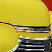 1941 Chevrolet Sedan Hood Ornament 2 Poster by Jill Reger