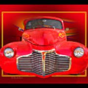 1941 Chevy Custom Poster