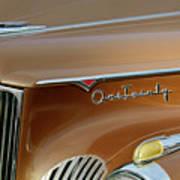 1941 Packard Hood Ornament 2  Poster by Jill Reger