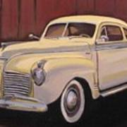 1941 Plymouth - Aunt Clara Poster