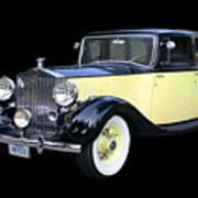 1941 Rolls-royce Phantom I I I  Poster