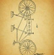 1945 Schwinn Tandem Bicycle Poster