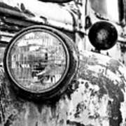 1946 Chevy Work Truck - Headlight Detail Poster