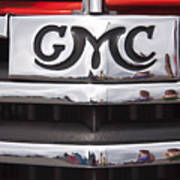 1946 Gmc Truck Grill 2 Poster