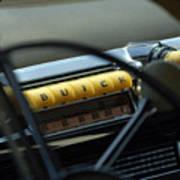 1947 Buick Super Radio Poster