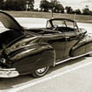 1947 Pontiac Convertible Photograph 5544.64 Poster