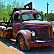 1947 Reo Speed Wagon Truck Poster