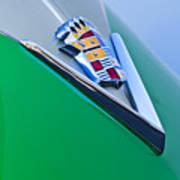 1948 Cadillac Emblem Poster