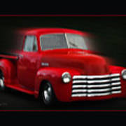 1948 Chevy Pickup Poster
