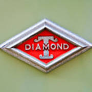 1948 Diamond T Emblem -ck0879c Poster
