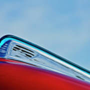 1948 Ford Coupe Sedan Hood Ornament Poster