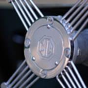 1948 Mg Tc Steering Wheel 2 Poster