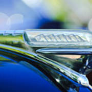 1948 Plymouth Hood Ornament Poster