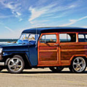 1949 Willys Woody Wagon I Poster