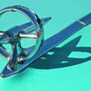 1950 Buick Hood Ornament Poster