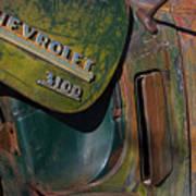 1950 Chevrolet Pickup Truck Emblem Poster
