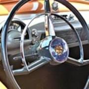 1950 Olds - Oldsmobile 88 Dashboard Poster
