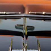 1950 Oldsmobile Rocket 88 Hood Ornament 3 Poster