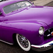 1950 Purple Mercury Poster