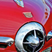 1950 Studebaker Champion Hood Ornament Poster
