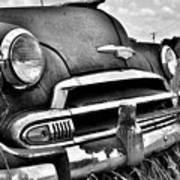 1951 Chevrolet Power Glide Black And White 3 Poster